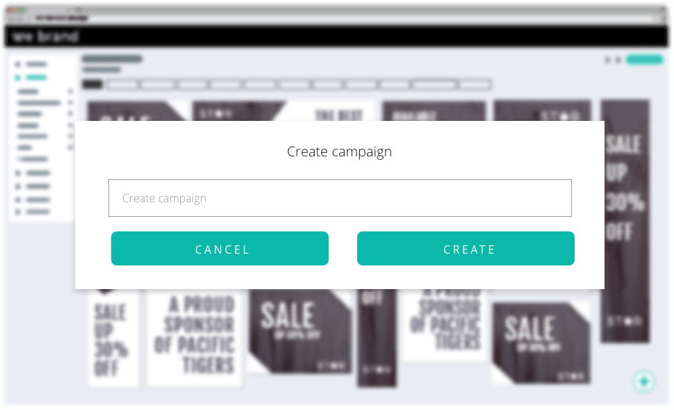 Campaign creation window