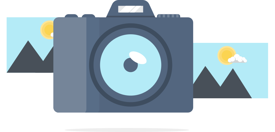 Image and Camera Icons